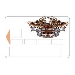 Sticker CB Harley Davidson