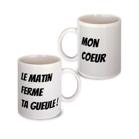 """Mug """"Ta gueule"""""""
