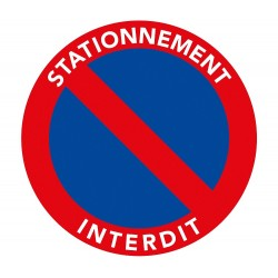 Sticker Arret Interdit
