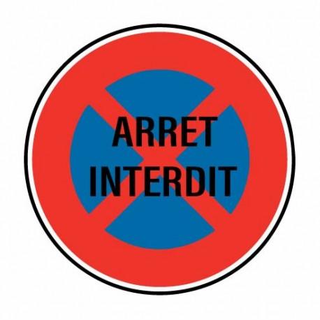 Sticker Arret Interdit
