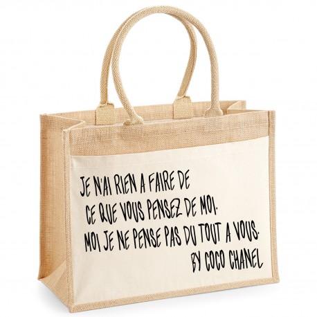 Sac shopping La pensée