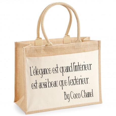 Sac shopping L'élégance