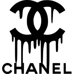 sticker chanel coulant