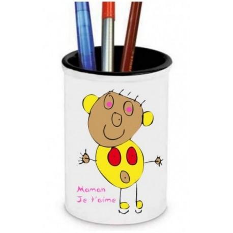 Pot à Crayon Personnalisé