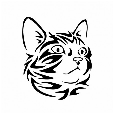 Sticker chat tribal