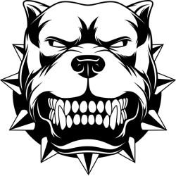 Sticker Pit Bull