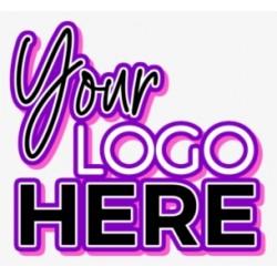Sticker logo personnalisé couleur