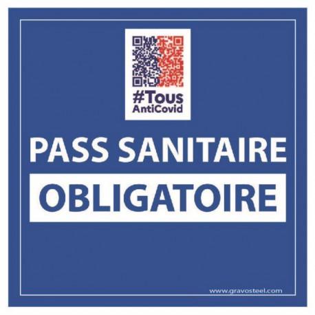 Sticker pass sanitaire obligatoire