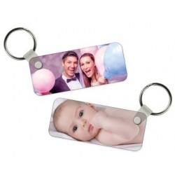 Porte clé Photo Rectangle Personnalisable