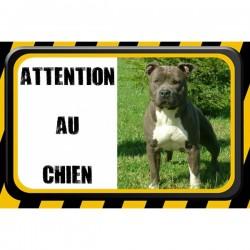 Plaque Attention Au Chien 15x20cm