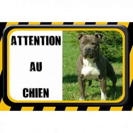 Plaque ATTENTION AU CHIEN