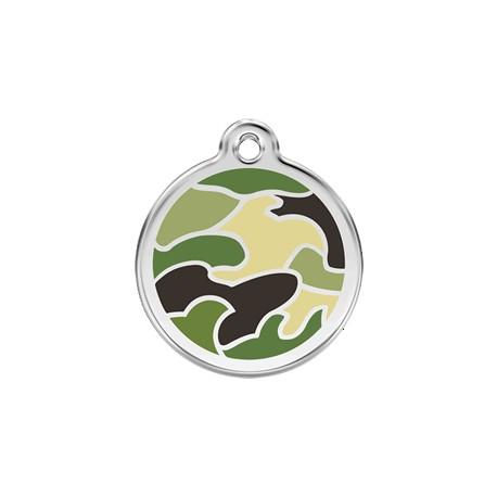 Médaille Chien Red Dingo Camouflage