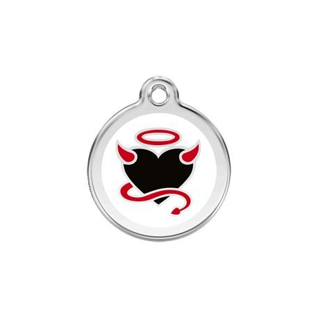 Médaille Chien Red Dingo Ange ou Demon