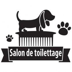 Sticker salon de toilettage 9