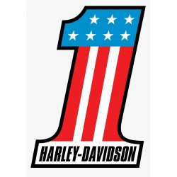 Sticker couleur Harley 4