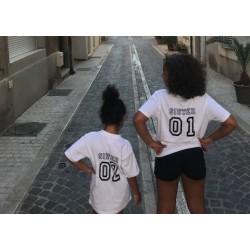 Pack 2 Tshirt enfant Sister