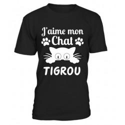 Tee shirt Femme j'aime mon chat